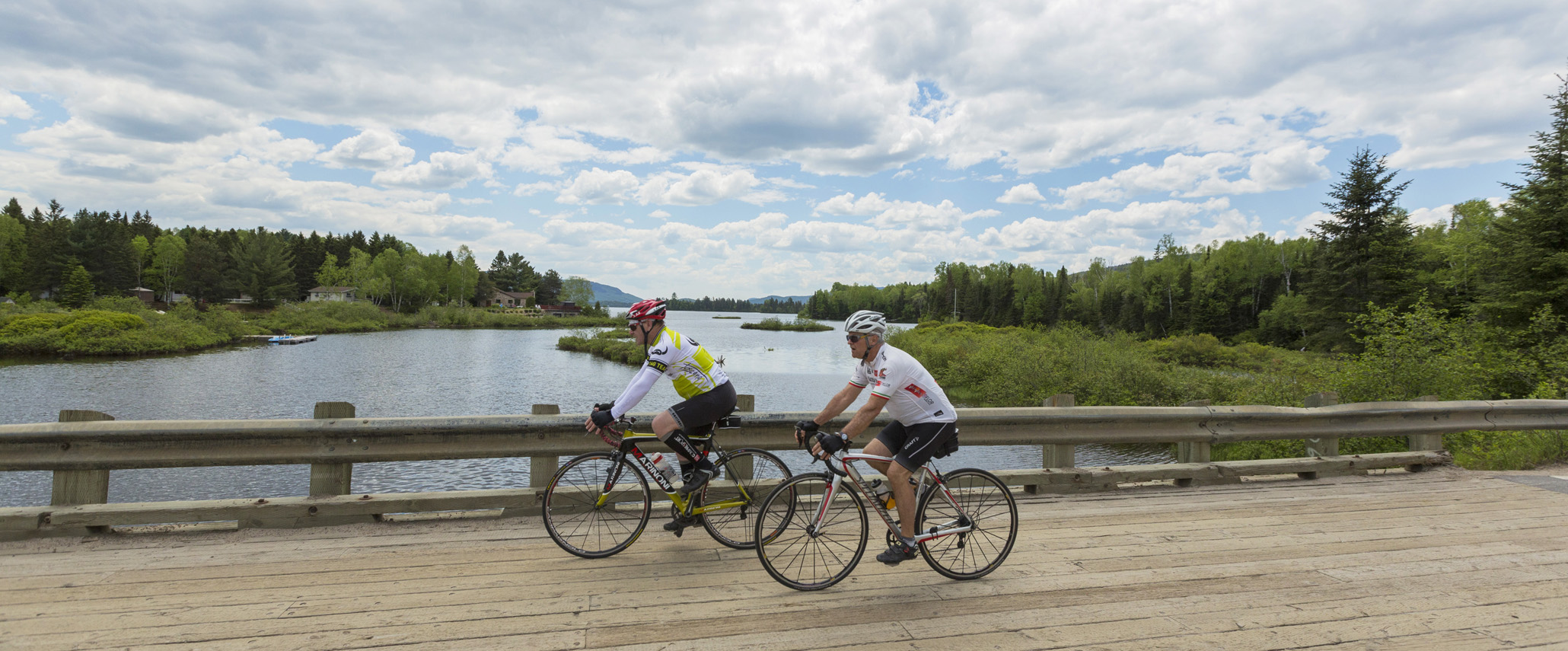 Vélo à Saint-Donat