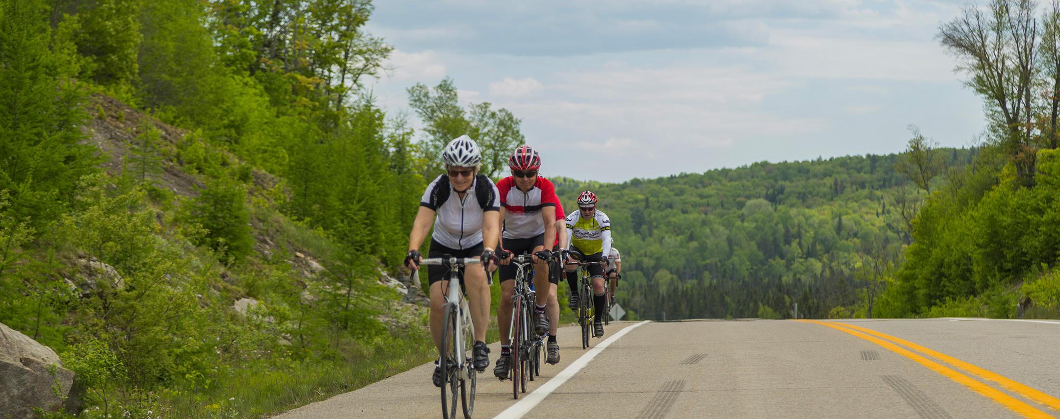 Cycling in Saint-Donat