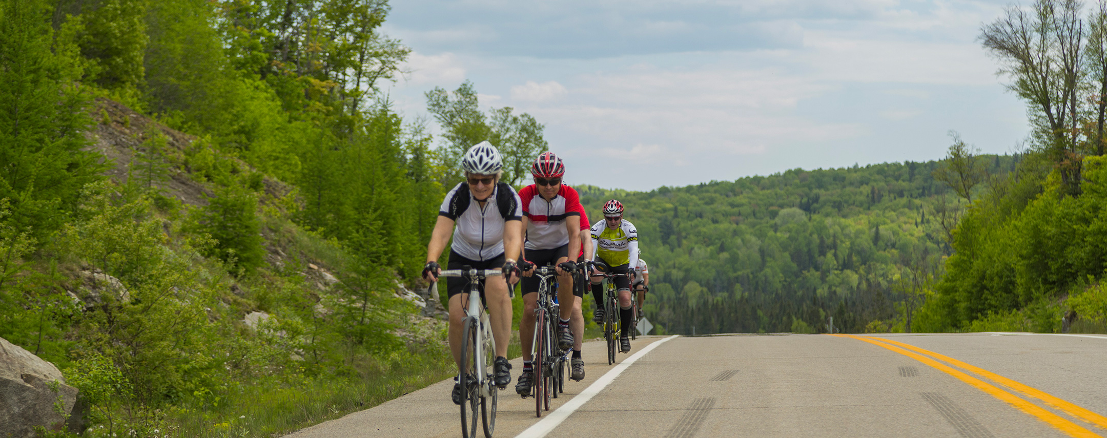 Cycling in Saint-Donat