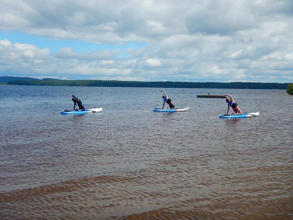 Paddleboard Lac Taureau