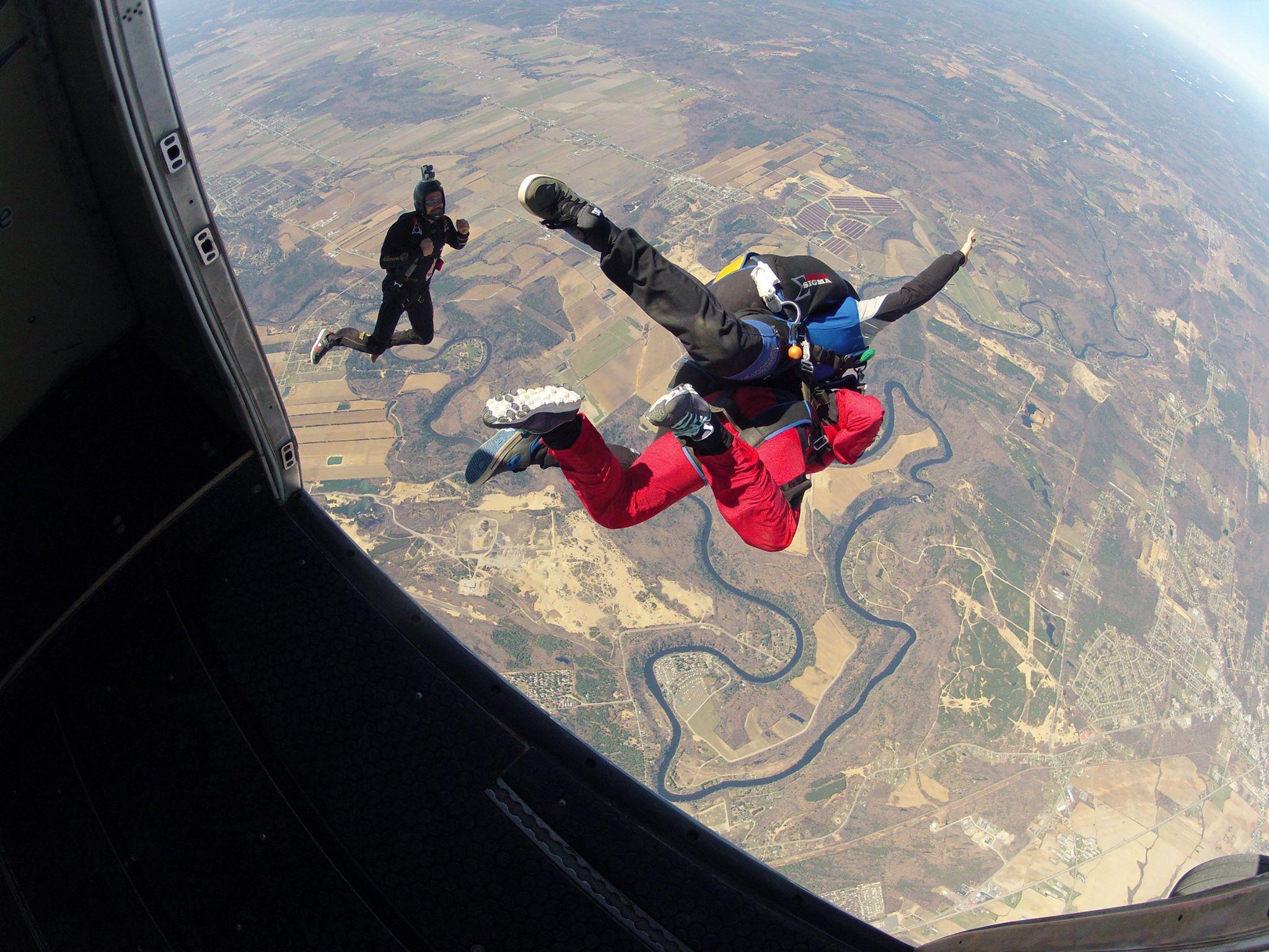 parachutisme voltige