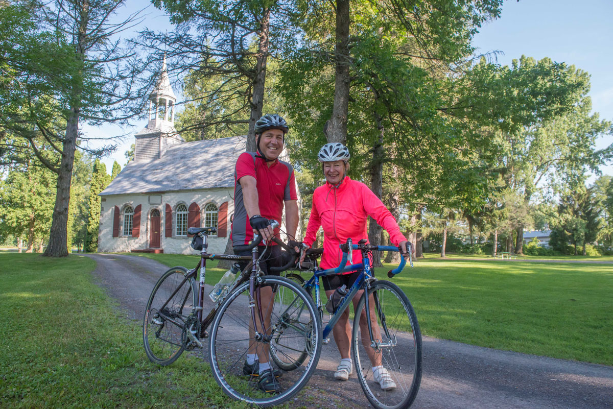 Vélo Berthier Chapelle des Cuthbert