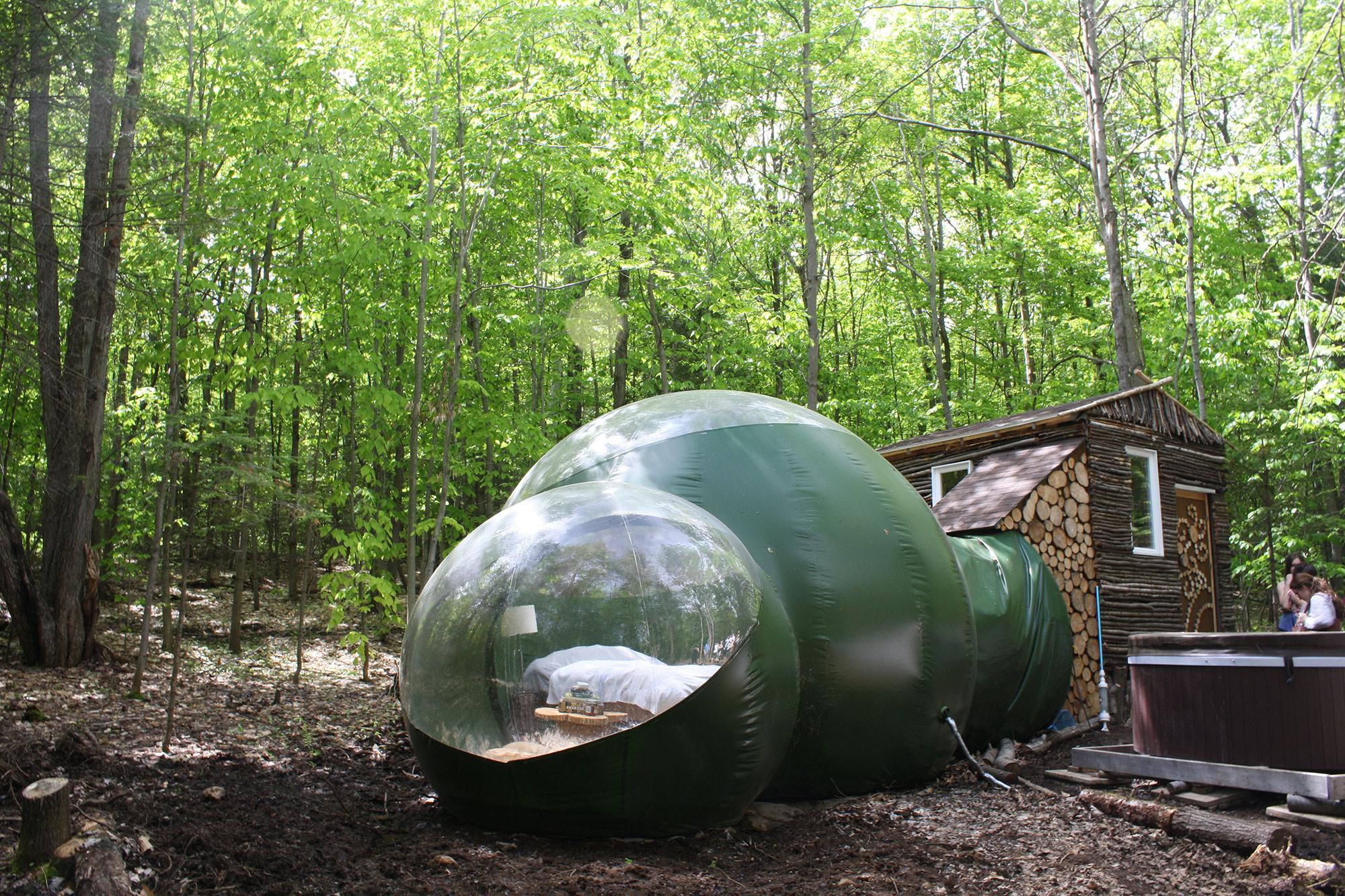 La bulle de Hébergement Les pieds sur terre